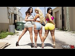BANGBROS - Rose Monroe, Brandi Bae and Ariella ...