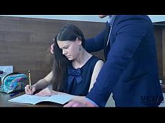 LUSTFUL TEACHER TAKES ANAL VIRGINITY