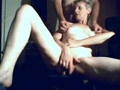 Home made video with my mature slut wife