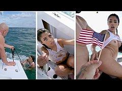 BANGBROS - Cuban Hottie, Vanessa Sky, Gets Resc...