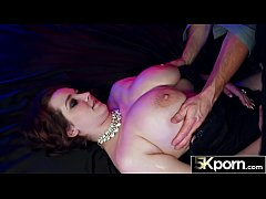 5KPORN - Anna Blaze TittyFucked Between Her Hug...