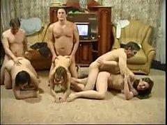 Family Orgy and Feelin Good