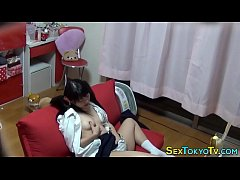 Uniformed teen asian solo