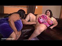 Bbw threesome, Cotton Candi and Anastasia Vande...