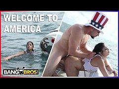 BANGBROS - J-Mac Rescues Cuban Refugee Vanessa ...