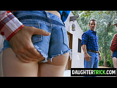 Country Dads swap Daughters for a change