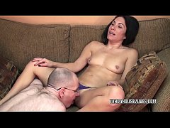 Horny housewife Cleo Leroux is getting nailed b...