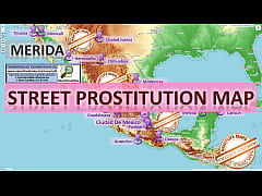 Merida, Mexico, Sex Map, Street Prostitution Ma...