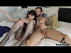 Flat Chested Charlotte Sartre Fucked By Big Fre...