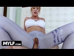 Neighbor boy fucks Nude-MILF next door - Brandi...