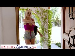 Naughty America - Kelly (Nova Cane) fucks her f...