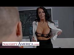 Naughty America - Reagan Foxx teaches her stude...