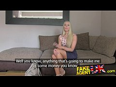 FakeAgentUK South African babe put through pace...