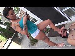 Christy Mack - Lick My Feet Pig