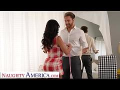 Naughty America - Victoria June gives a random ...