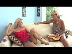 Hot Blonde Mature Stepmom was worrying about Re...