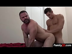 What the fuck! This stepson filmed while he stu...