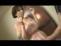 Clip sex Uncensored voluptuous Japanese Yuko Iijima stripped Subtitled