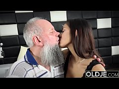 Morning Breakfast sex OLD and y. gives a handjo...