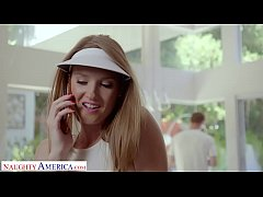 Naughty America - Tennis instructor gets lucky ...