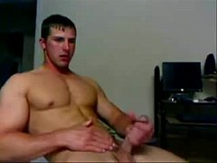 Rubs Muscle Jock One Out - hotguycams.com