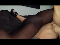 Bbw cougar gets young bbc