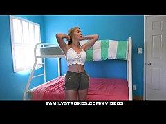 FamilyStrokes - Blonde Teen Hannah Hawthorne wi...