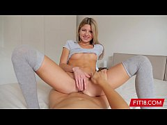 FIT18 - Gina Gerson - Creampie Her 88 lb Skinny...