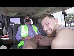 BAIT BUS - Construction Worker Dale Savage Gets...