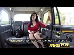 Fake Taxi Huge meaty pussy lips hang over and g...