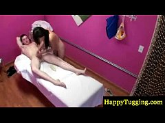 Asian masseur gives him a happy ending