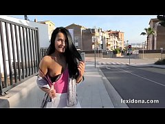 Pornstar - Follow me around Barcelona as I flas...