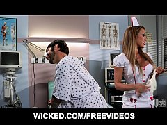 Big booty nurse fucks her paitient's brains out...