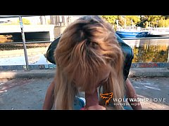 Horny LOLA SHINE bangs her blind date in public...