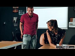 PURE TABOO Lesbian Teacher Christy Love Asks Ma...