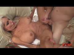 young guy slams his young cock to mature MILF  ...