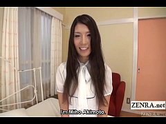 Embarrassed naked Japanese amateur shy striptea...