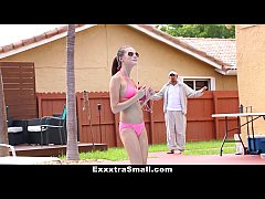 ExxxtraSmall - Perky Spinner Gets Fucked By Swi...