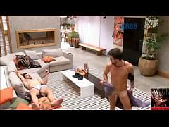 Big Brother Brasil - BBB - Rafael fica pelado e...