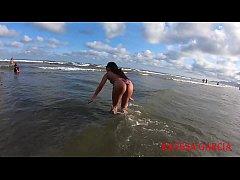 Curtindo a praia as custas do meu capacho - Ray...