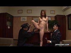 Asian naked prisoner goes through a Clockwork O...
