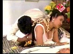 Telugu House Wife First Night Hot Bed Room Scen...