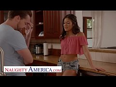 Naughty America - Kendra Spade flirts and fucks...