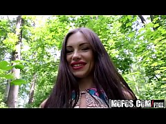 (Sasha Rose) - Russian Brunette Fucks Outdoors ...