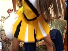 Ebony Cheerleaders #5 - Naughty girls from blac...