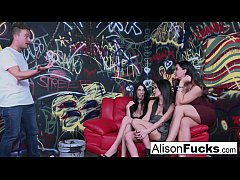 Alison Tyler goes wild in this amazing 4-way of...