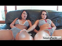 Natasha and Kayme Kai enjoy getting fucked