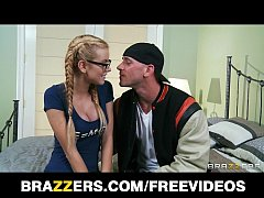 Shy blonde college student turns into a slut fo...