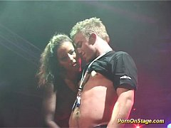 porn on stage