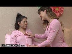 GirlfriendsFilms - Stepdaughter Practices Sex W...